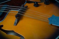 De bovenkant van het mandolinelichaam Royalty-vrije Stock Afbeeldingen
