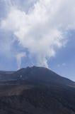 De bovenkant van Onderstel Etna, Sicilië Royalty-vrije Stock Afbeelding