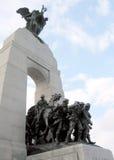 De bovenkant van Ottawa van Oorlogsgedenkteken 2008 Royalty-vrije Stock Afbeelding