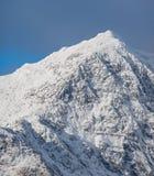 De bovenkant van Snowdon Stock Fotografie