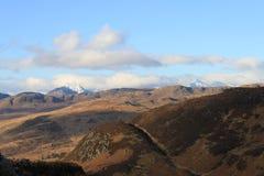 De bovenkanten van de berg Stock Foto's