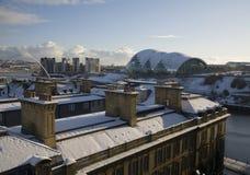 De Bovenkanten van het dak op Quayside royalty-vrije stock foto's