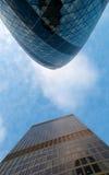 De bovenkanten van Londen Stock Foto's