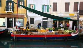 De box van het fruit in Venetië Royalty-vrije Stock Foto