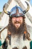 De boze Viking Stock Afbeelding