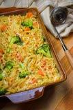 De braadpan van broccoli stock foto's