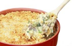 De Braadpan van de Broccoli van de kip royalty-vrije stock foto