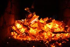 De brand Stock Afbeeldingen