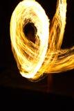 De brand toont bij eiland Kood Royalty-vrije Stock Foto's