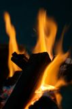 De Brand van de barbecue Royalty-vrije Stock Afbeelding
