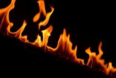 De Brand van de brandbrand Stock Afbeelding