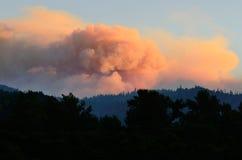 De brand van de Dadskreek Royalty-vrije Stock Foto's