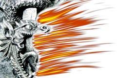 De brand van de draak Royalty-vrije Stock Afbeelding