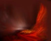 De brand van de mysticus Royalty-vrije Stock Foto's