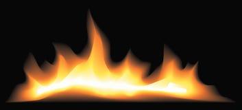 De brand van de mysticus Royalty-vrije Stock Afbeeldingen