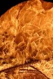 De brand van de oven Stock Foto's