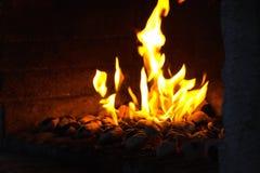 De brand van de smid Stock Afbeelding