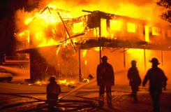 De Brand van de structuur Stock Afbeeldingen