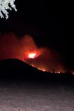 De Brand van Elsinore van het meer, Bergen Ortega stock afbeeldingen