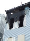 De brand van het huis Royalty-vrije Stock Fotografie