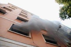 De brand van het huis Royalty-vrije Stock Foto's