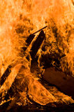 De brand van het kamp Royalty-vrije Stock Foto's