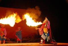 De brand van het spuwen Royalty-vrije Stock Afbeelding