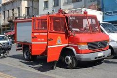 De Brandbestrijders van Griekenland stock afbeeldingen