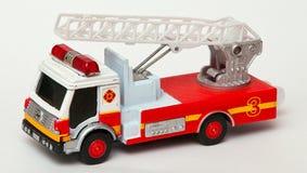 De brandbestrijdersauto van het stuk speelgoed Royalty-vrije Stock Fotografie