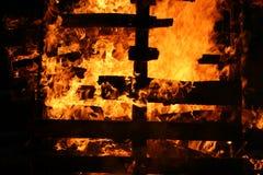 De branden zullen stock fotografie