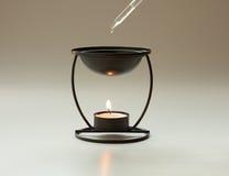 De brander van Aromatherapy stock foto's