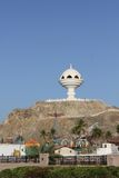 De Brander van de wierook in Muscateldruif, Oman Stock Foto