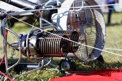 De branders van de hete luchtballon royalty-vrije stock afbeeldingen