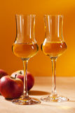 De Brandewijn van Calvados Royalty-vrije Stock Foto's