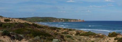 De Brandingsstrand van kaapwoolamai, Phillip Island Nature Park, Victoria Australia royalty-vrije stock afbeelding