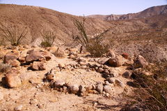 De brandring van de woestijn Royalty-vrije Stock Fotografie