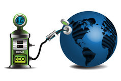 De brandstof van Eco royalty-vrije illustratie