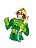 De brandweerman Royalty-vrije Stock Foto
