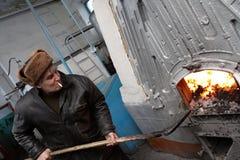 De brandweerman Royalty-vrije Stock Foto's