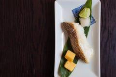 De brasem roosterde Japans voedsel Stock Fotografie
