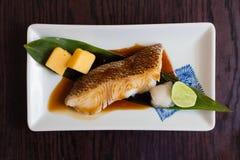 De brasem roosterde Japans voedsel Royalty-vrije Stock Afbeeldingen