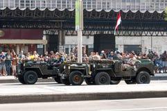 De Braziliaanse Parade van de Onafhankelijkheidsdag Stock Foto