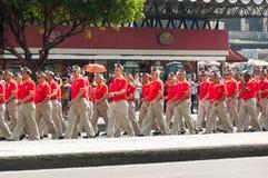 De Braziliaanse Parade van de Onafhankelijkheidsdag Stock Fotografie