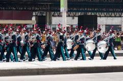 De Braziliaanse Parade van de Onafhankelijkheidsdag Royalty-vrije Stock Afbeeldingen