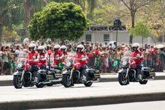 De Braziliaanse Parade van de Onafhankelijkheidsdag Royalty-vrije Stock Foto's