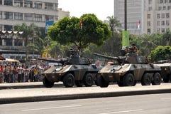 De Braziliaanse Parade van de Onafhankelijkheidsdag Stock Afbeelding