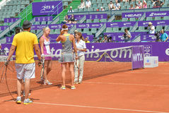 De BRD Boekarest OPEN - Dag 4 - 09 07 2014 Stock Foto