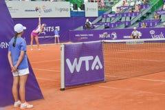 De BRD Boekarest OPEN - Dag 4 - 09 07 2014 Royalty-vrije Stock Foto