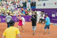 De BRD Boekarest OPEN - Dag 4 - 09 07 2014 Stock Afbeelding