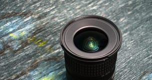 De brede lens van het hoekgezoem dslr Royalty-vrije Stock Afbeelding